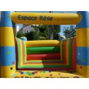 INFLATABLE CASTLE MINI 4 COLUMNS FOR RENT